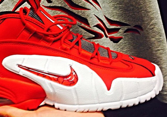 Nike Air Max Penny - Red - White
