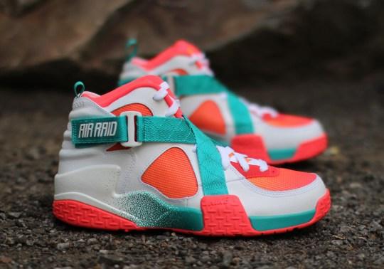 Nike Air Raid BRZ – Atomic Mango – Turbo Green | Available
