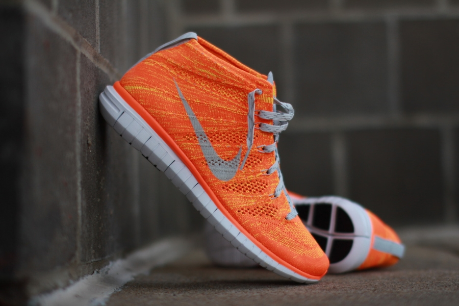 Nike Free Flyknit Chukka Color  Total Orange Light Base Grey-Volt Style  Code  639700-800. Price   170 09e1a45c9