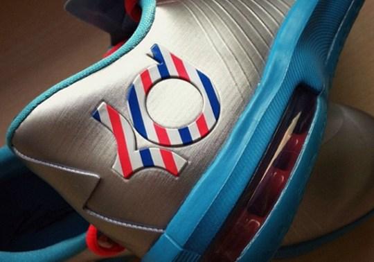 "Nike KD 6 GS ""Barber"""