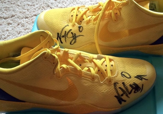 NIKEiD Kobe 8 Autographed by Swaggy P on eBay