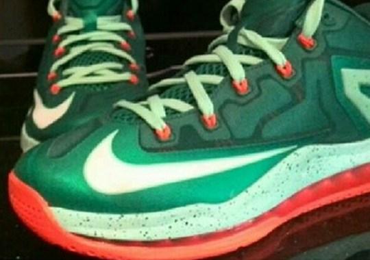 Nike LeBron 11 Low – Green – Orange