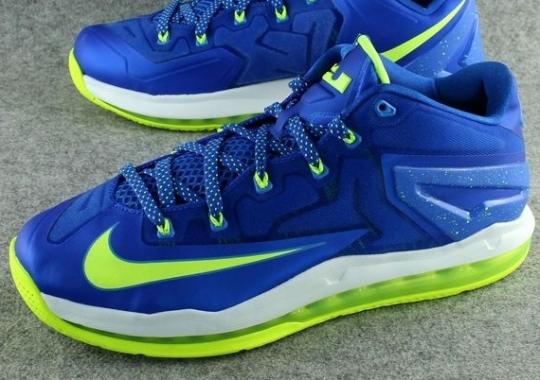 "Nike LeBron 11 Low ""Sprite"" – Release Date"