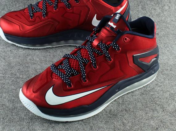 Nike LeBron 11 Low - University Red