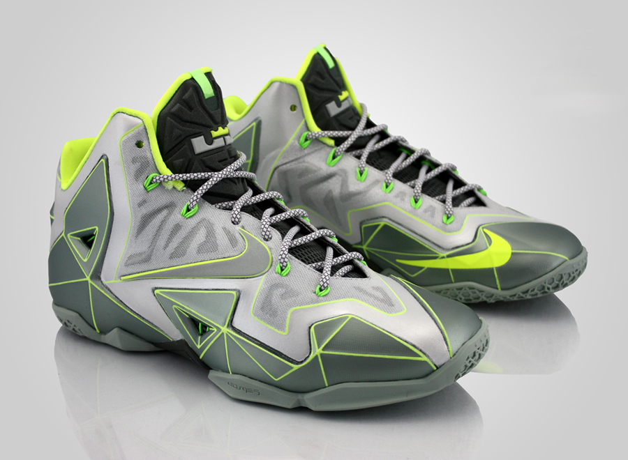 """Nike LeBron 11 """"Vector"""" by Revive Customs - SneakerNews.comLebron 11 Customize Ideas"""