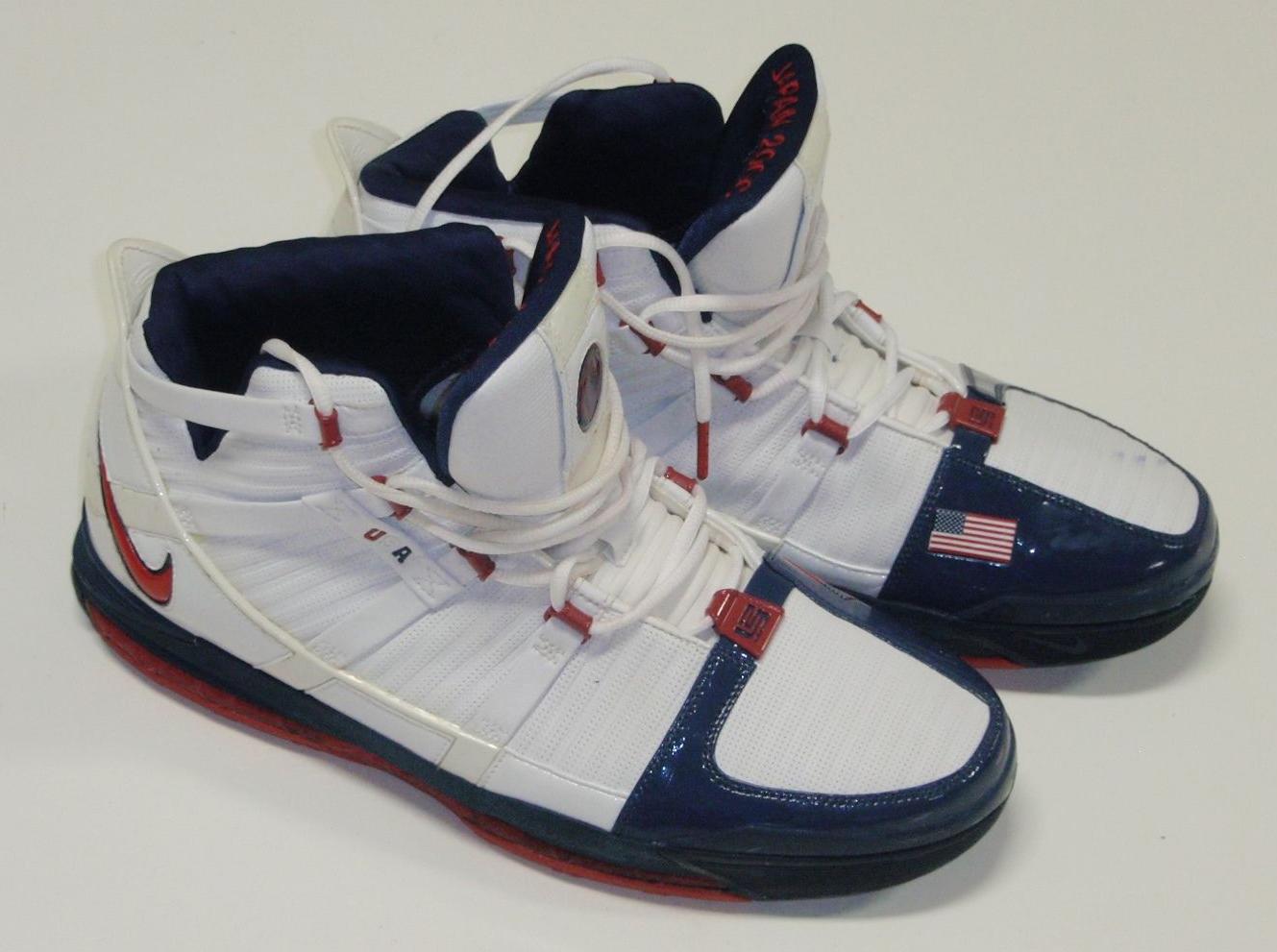 28f1d463671d Nike Zoom LeBron III – Game-Worn 2006 FIBA Japan PEs