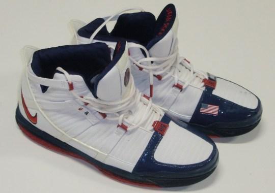 Nike Zoom LeBron III – Game-Worn 2006 FIBA Japan PEs