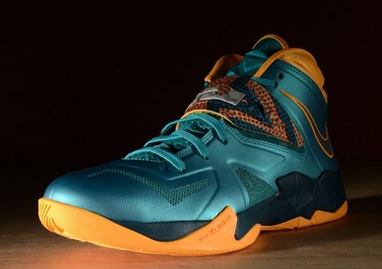 Nike LeBron Soldier 7 – Turbo Green – Atomic Mango – Nightshade
