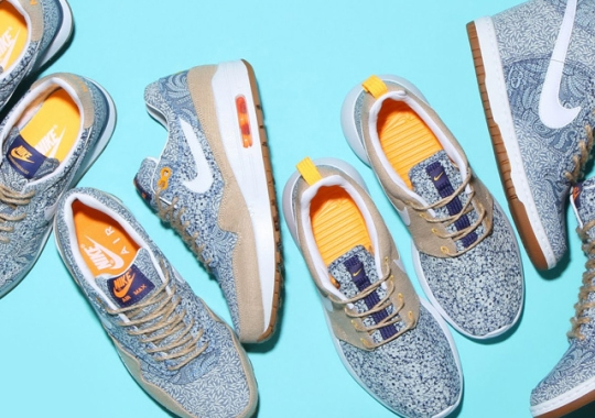 "Liberty x Nike Sportswear Summer 2014 ""Linen"" Collection"