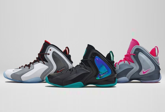 Nike Officially Unveils the Lil' Penny Posite in Three New Colorways