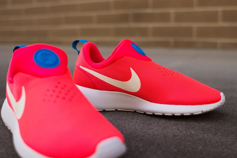 Nike Roshe Run Slip On Laser Crimson (644432 601)