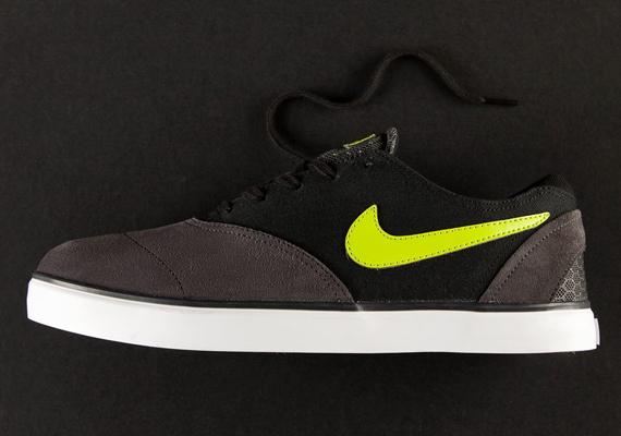 new concept 0a347 97c00 Nike SB Eric Koston 2 LR - Anthracite - Green - Black - SneakerNews.com
