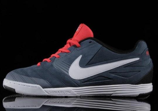 Nike SB Lunar Gato – New Slate – White – Laser Crimson