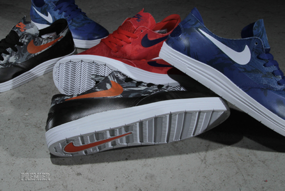 "cheap for discount 67ec3 34683 Nike SB Lunar One Shot ""World Cup"" Pack"