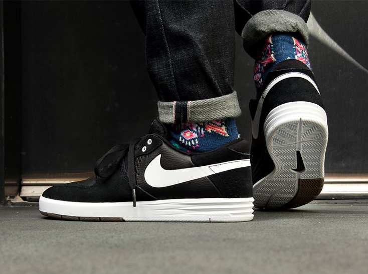 best sneakers 0e7a9 828c7 Nike SB Paul Rodriguez 7 – Black – White