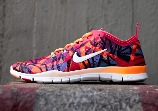 Nike WMNS Free TR Fit 5.0 – Red – Orange
