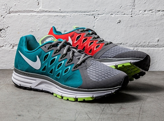 on feet at promo code new photos Nike Zoom Vomero 9 - Light Crimson - Turbo Green ...