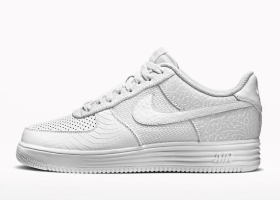 """NIKEiD Air Force 1 Low """"All-White"""" Options - SneakerNews.com"""
