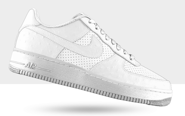meet 6f031 d471f NIKEiD Air Force 1 Low quotAll-Whitequot Options 70%OFF