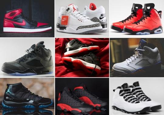 Nikestore May 2014 Air Jordan Restock