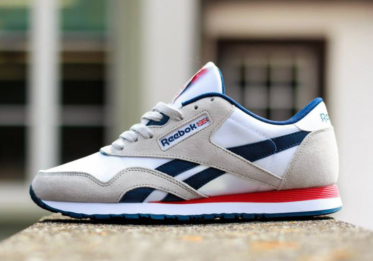 ac4fc0154db61 Reebok Classic Nylon SP - White - Steel - Navy - Red - SneakerNews.com