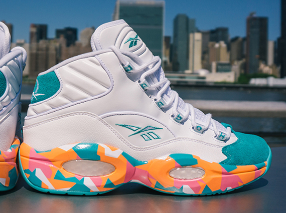 Selling - reebok question white noise