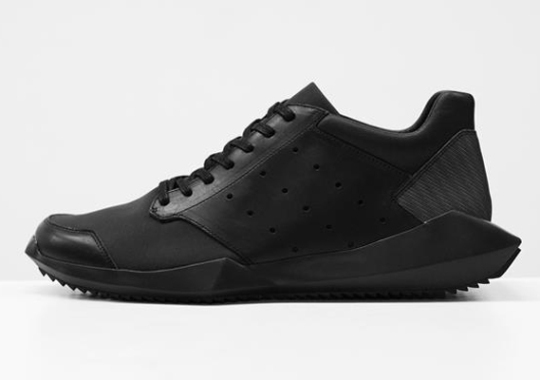 Rick Owens x adidas Tech Runner Collection for Fall/Winter 2014