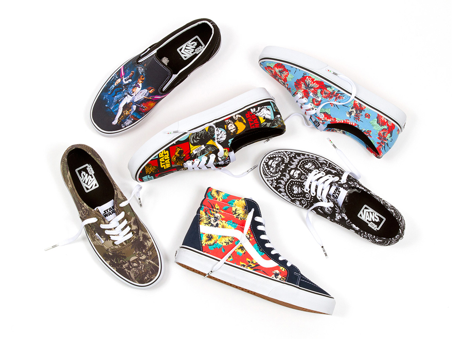 8388fce8d4 Star Wars x Vans Classics Collection for Summer 2014 - SneakerNews.com