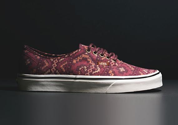 vans authentic tribal red clay 01 Vans Authentic Tribal Red Clay