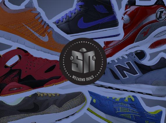 weekend sneaker deals may 31 2014 Sneaker News Presents: Weekend Deals May 31st, 2014