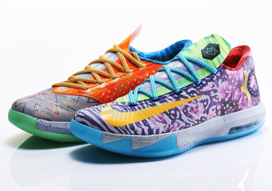 "Nike ""What The"" KD 6 Release Date Confirmed For June 14th"