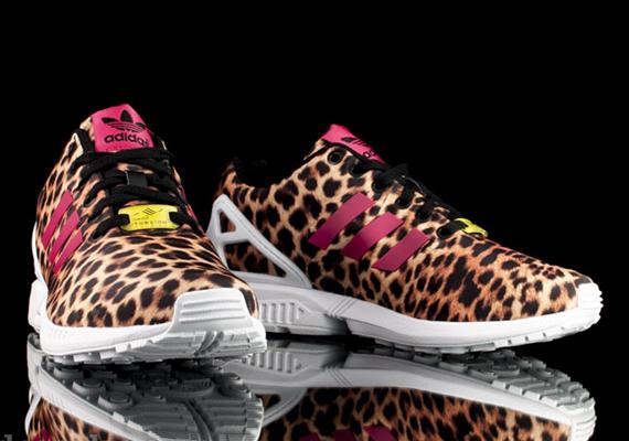 adidas zx flux animal print