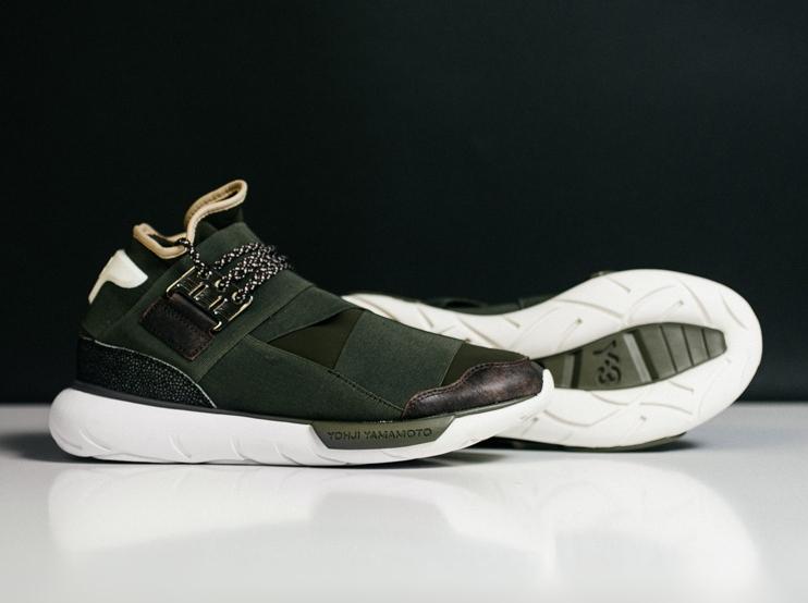 "464a594f3c50 adidas Y-3 Qasa High ""Khaki"" - Available - SneakerNews.com"