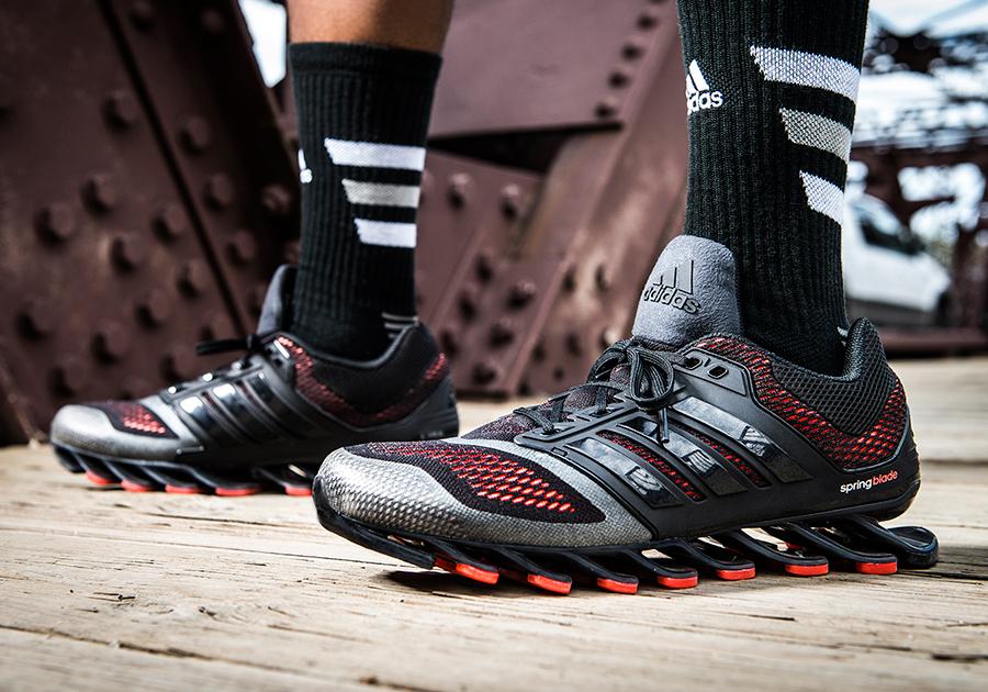 2f060299cff adidas Unveils the Springblade Drive - SneakerNews.com