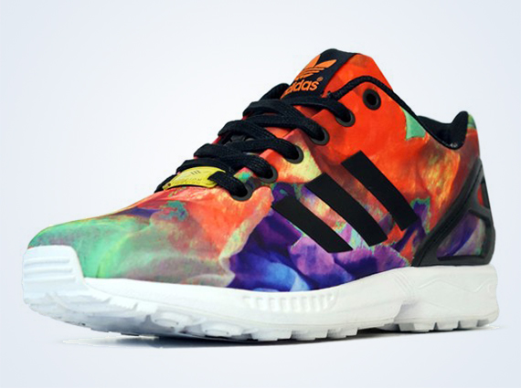 "big sale de9b0 bf2fb adidas Originals Women s ZX Flux ""Floral"""