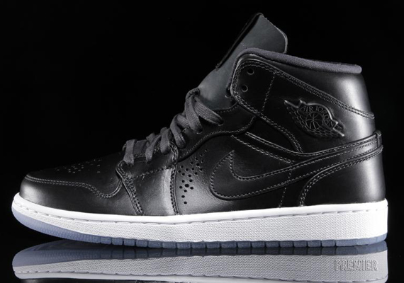 Air Jordan En Mid Nouveau Black Ice Antrasitt Cafe GQUE3