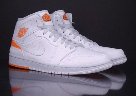Air Jordan 1 Retro '86 – White – Kumquat – Pure Platinum