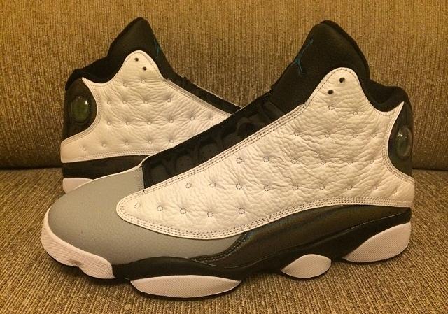 0d4465f8941 Air Jordan 13 - White - Black - Grey - SneakerNews.com