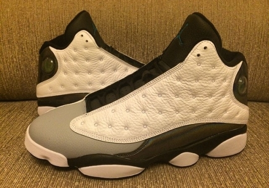 Air Jordan 13 – White – Black – Grey