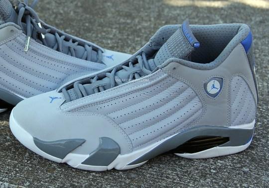 Air Jordan 14 – Grey – Sport Blue – White