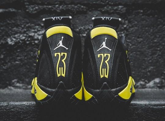 """Air Jordan 14 """"Thunder"""" – Arriving at Retailers"""