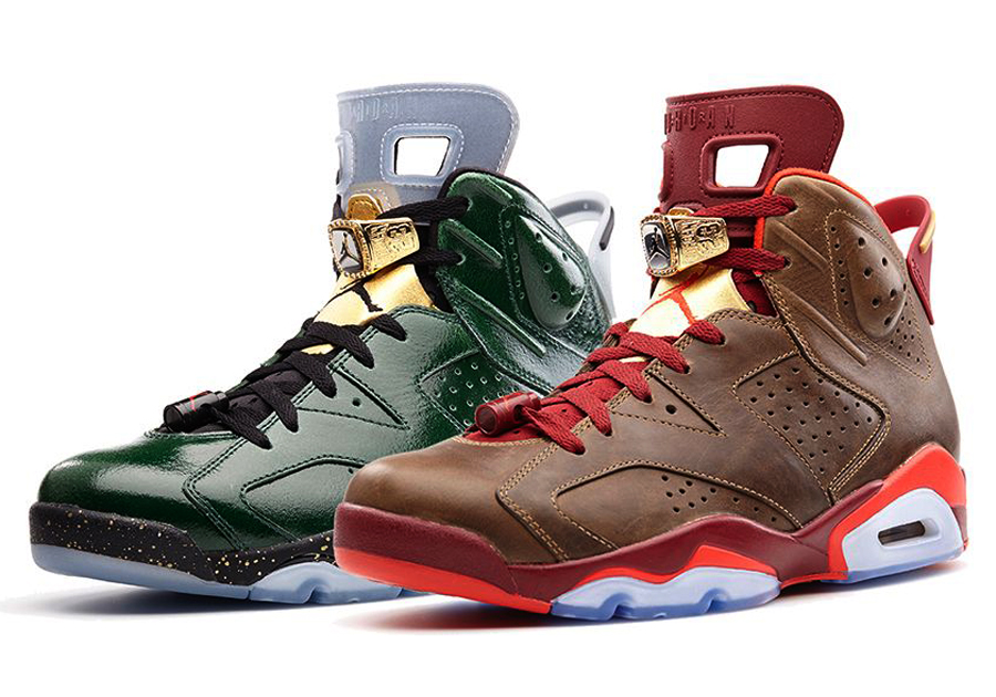 "Air Jordan 6 ""Celebration"" Collection"