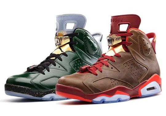 "Air Jordan 6 ""Celebration"" Collection"
