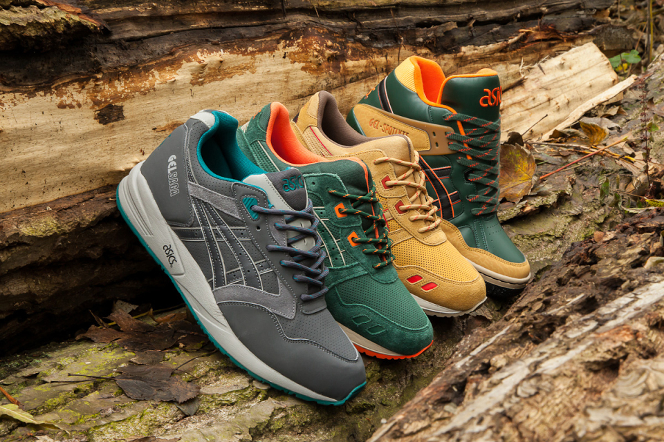 Asics quot Outdoorquot Pack for Fall 2014