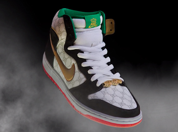 "new concept 9c500 7bfdb Black Sheep x Nike SB Dunk High ""Paid in Full"" - SneakerNews.com"