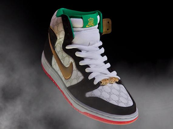Black Sheep Nike Sb Dunk High Gucci Sneakernews Com