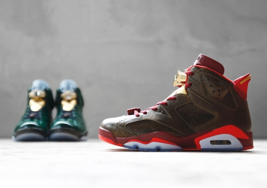 """Which Air Jordan 6 """"Championship"""" Do You Like More – Cigar or Champagne?"""