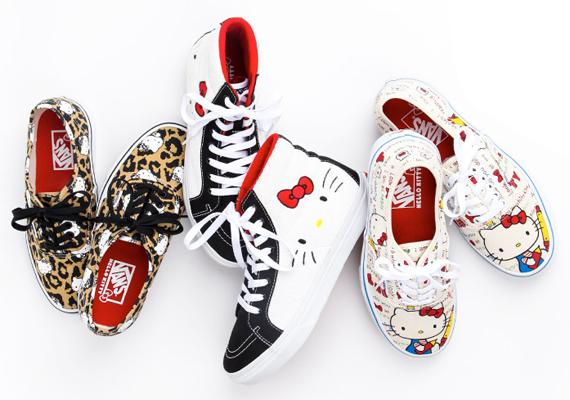 best service 84892 4334a Hello Kitty x Vans - Summer 2014 Footwear - SneakerNews.com