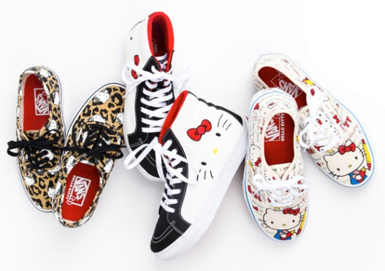 Hello Kitty x Vans – Summer 2014 Footwear