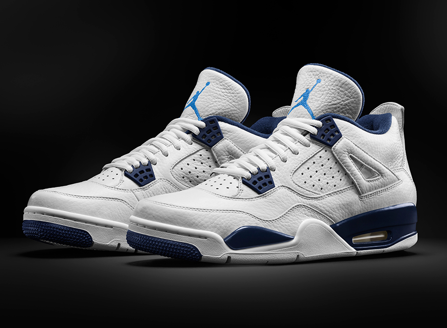 air jordan 4 columbia nikes